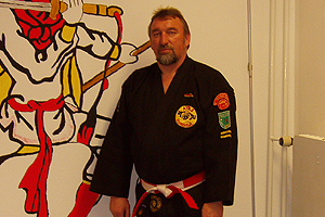 Preisträger Norbert Fritz vom ATKS Blumenthal