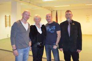 hoher Besuch - danke an Hanna und Norbert