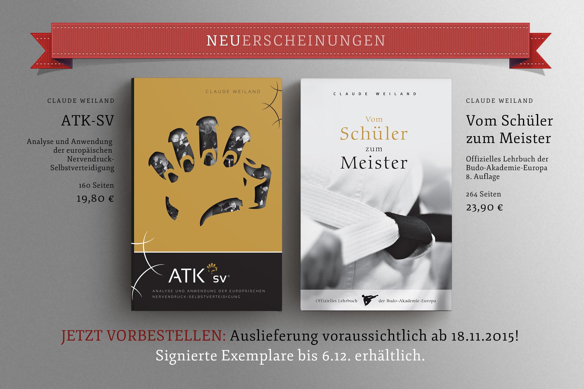 Zwei neue BAE-Bücher veröffentlicht