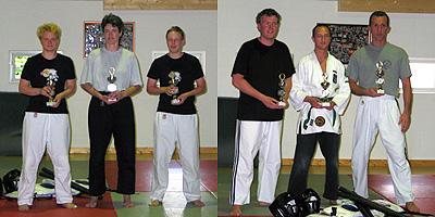 Sieger der Bo-Jutsu-Meisterschaft