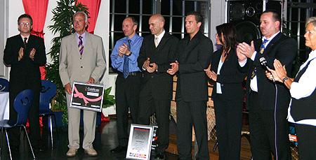 Ehrengrad-Verleihung