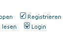 Die Registrierung ist kostenlos und eröffnet gleich alle Diskussionsmöglickeiten