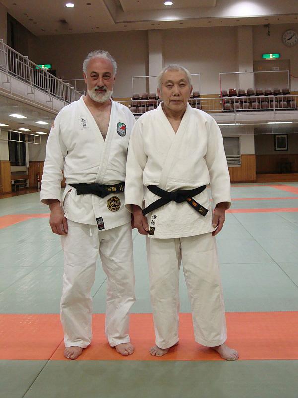 Nino Farinella und Saburo Matsushita