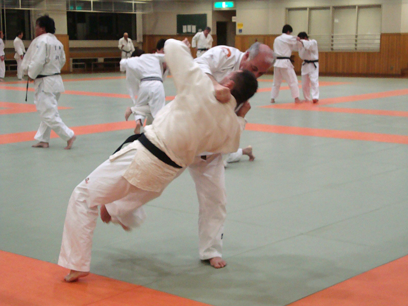 Nino Farinella beim Judo-Training
