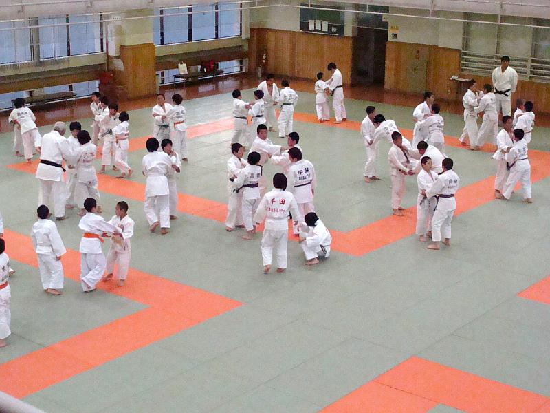 Randori im Kodokan
