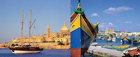 Malta hat viele Gesichter
