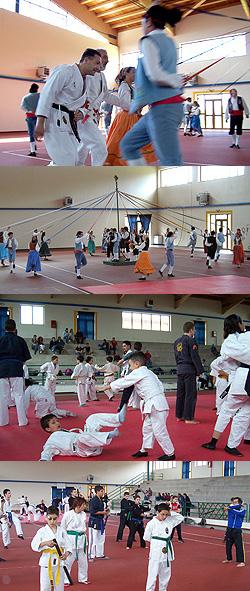Eröffnung und Training in Petralia