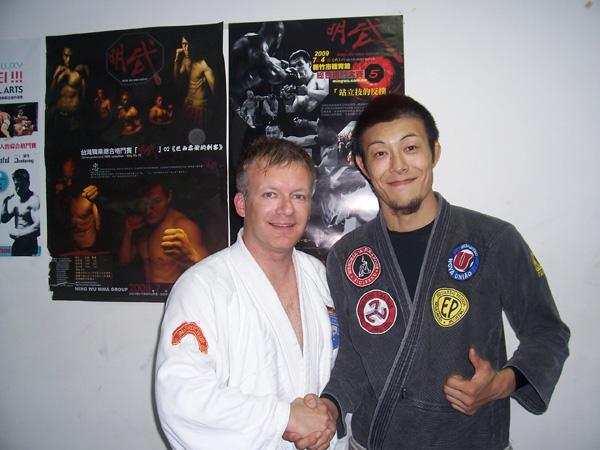 Claude Weiland und WM Makoto Ogasawara