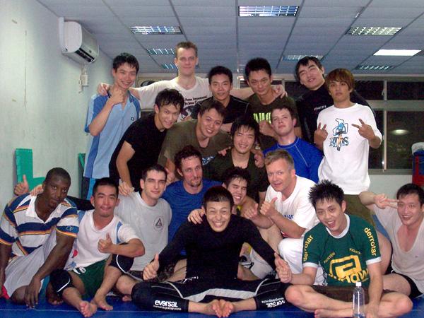 Dojo Team in Taipei