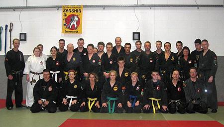 Gruppenbild der Lehrgangsteilnehmer
