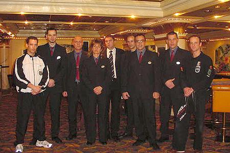 Das Security-Team mit den Seminarleitern