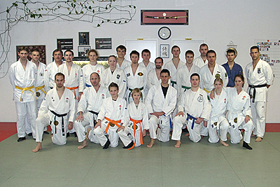 Teilnehmer des JJ-Lehrgangs