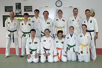 Teilnehmer des ASD-Lehrgangs