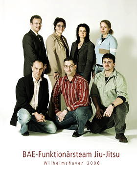 Das JJ-Funktionärsteam