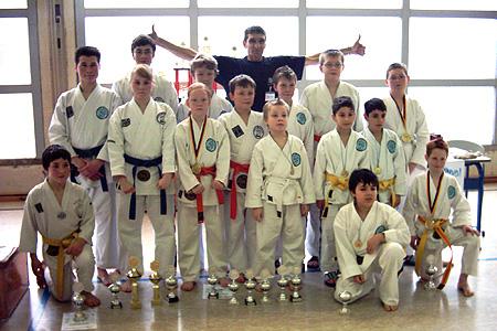 Das Team des Ausrichters Tai-Do