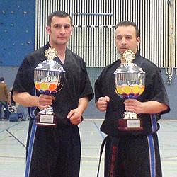 Nasso und Christos Bakas
