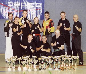 Das Kaderteam in seiner Anfangszeit